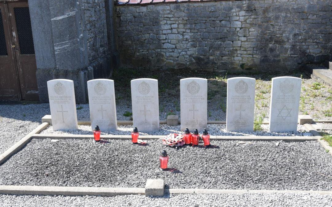 Les tombes britanniques de Soumoy